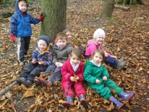 How many children fit on a leaf mattress?